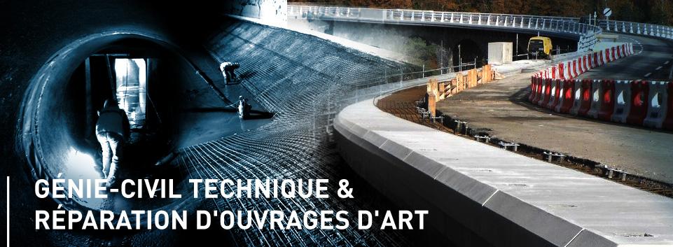 Génie-civil technique & réparation d'ouvrages d'art